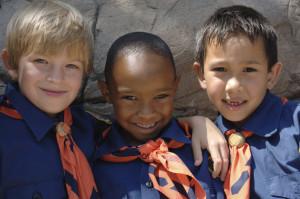 Three boys of di